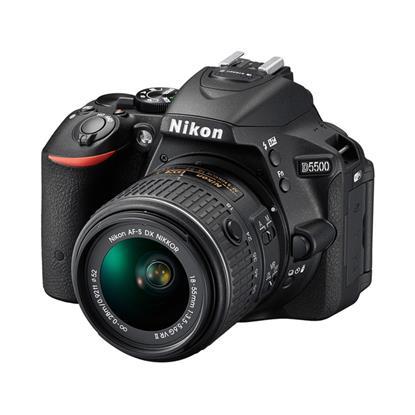 تصویر Nikon D5500 DSLR - Black